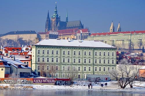 Prague, cathédrale Saint-Guy, Katedrála svatého Víta  et Kafka Museum