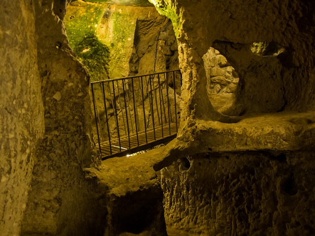 Underground City of Yeralti Sehri