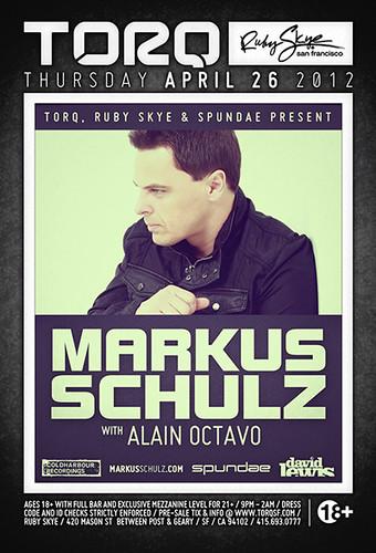 TORQ Thursdays: Markus Schulz