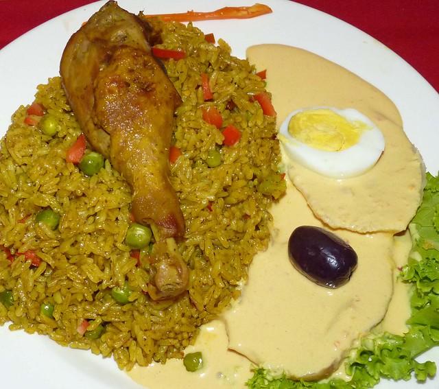 Arroz con pollo una buena combinaci n arroz con pollo - Arroz con verduras y costillas ...