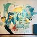 A mural for my soloshow @idrawalot by xxcrew