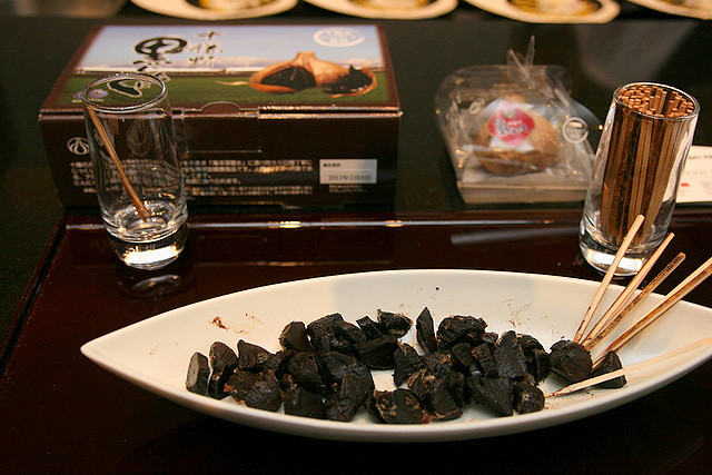 Black garlic from Toyonishi Farm