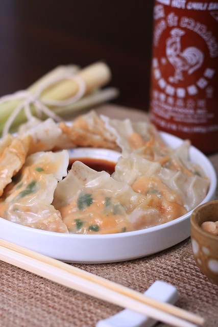 Sweet Potato and Lemongrass Gyozas