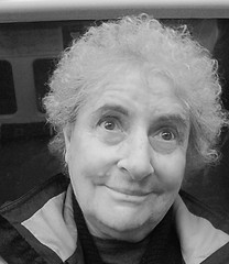"Funny Julie77 in bw - Autoportrait ""making faces"" by Julie70"