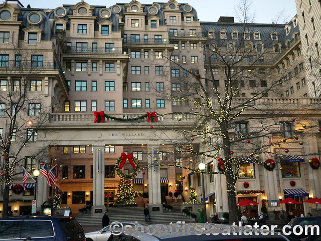 Afternoon Tea at The Willard InterContinental Hotel-16
