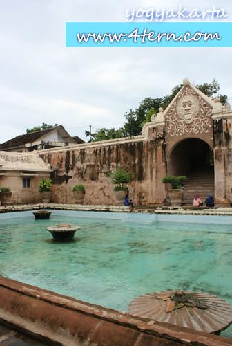 日惹Taman Sari国王鸳鸯戏水之地