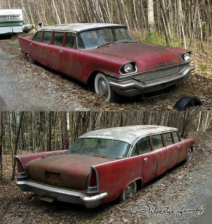 1957 Chrysler New Yorker Airport Limo