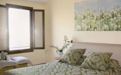 Una delle stanze da letto
