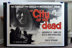 'City of the Dead' (1960) Original British Quad Poster by JohnHarrier Jr