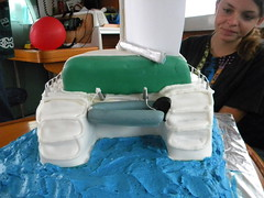 Never Sail Without Your Cake Dinghy by toastfloats