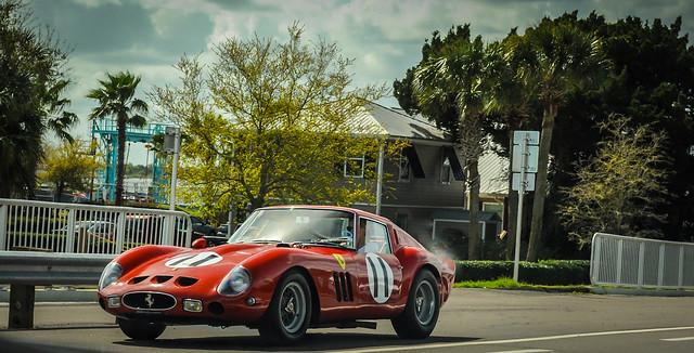 Ferrari 250 GTO tour of Amelia Island