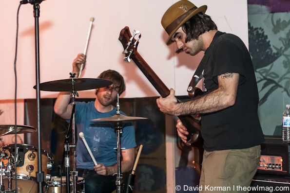 Silian Rail, Big Long Now, Mortar and Pestle, and Groundskeeper @ Sub/Mission, SF 3/9/12