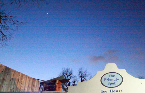 Two Planets Align at the Friendly Spot Ice House (3/12/12)