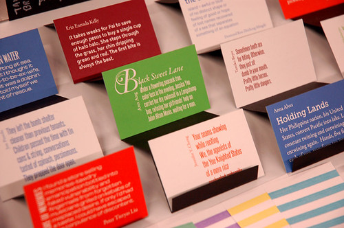 Some of our Pocket Broadsides