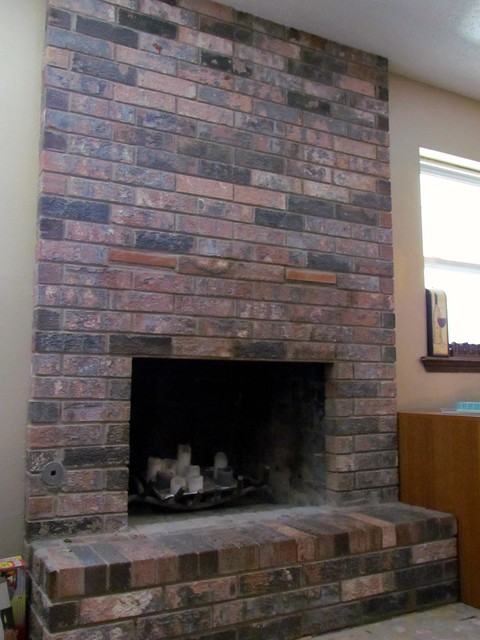 Making a Great Room - Resurfacing the Fireplace Part 1