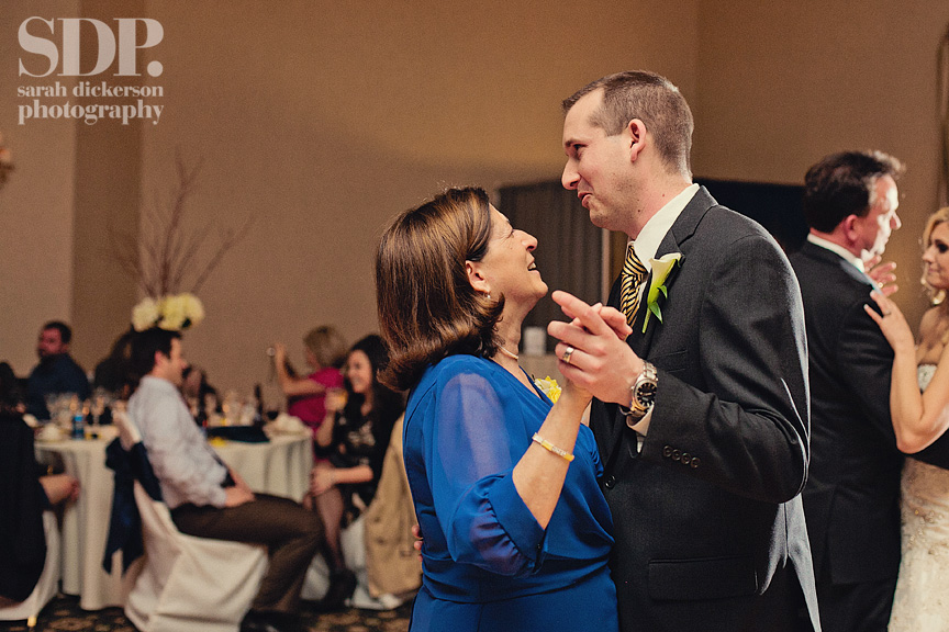 Ritz Charles Overland Park wedding reception