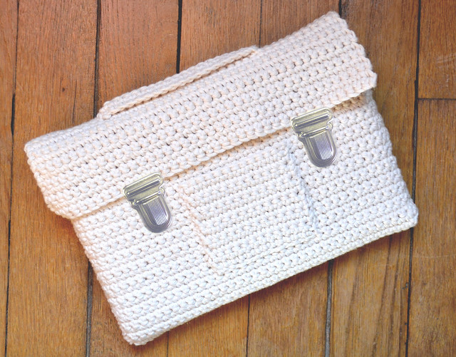 Cartable crochet