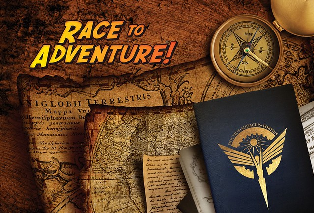 Race to Adventure - Passport Back