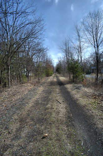 Albany County Rail Trail near Slingerlands, N.Y.