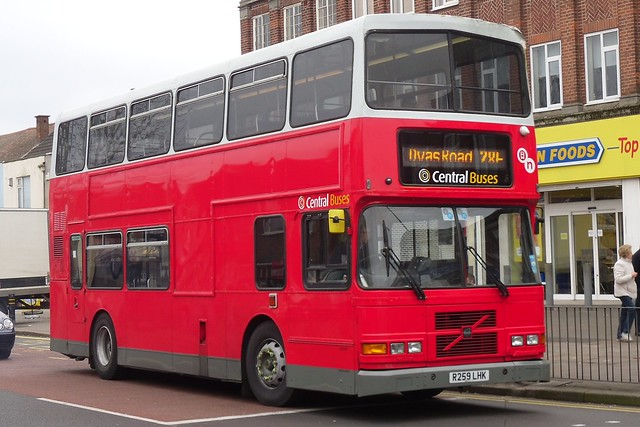 Central Buses Volvo Olympian/Alexander RH (R259 LHK)