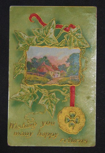 vintage st patricks day postcards 002