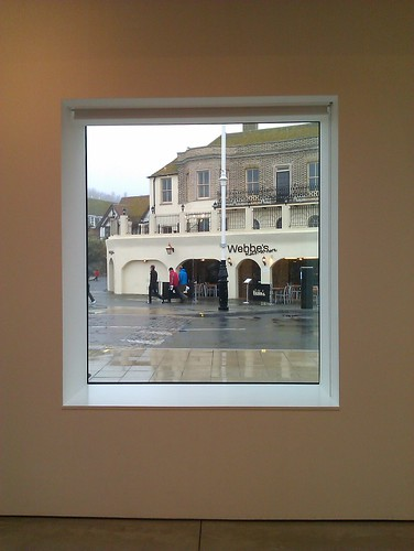 A view from the Jerwood Gallery