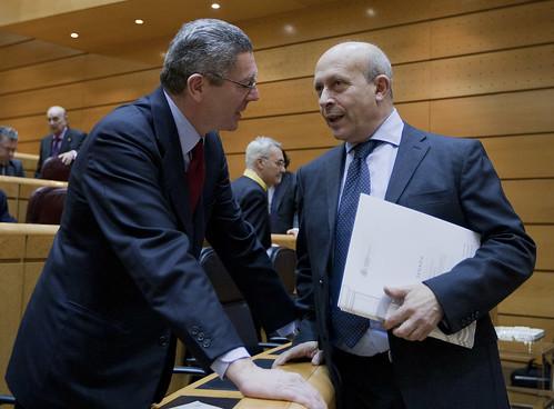Jose Ignacio Wert con Gallardon