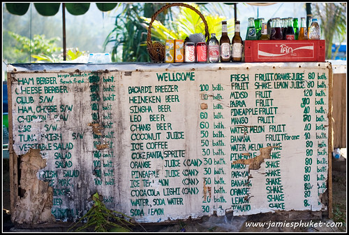 Beach bar, Karon Beach, Phuket