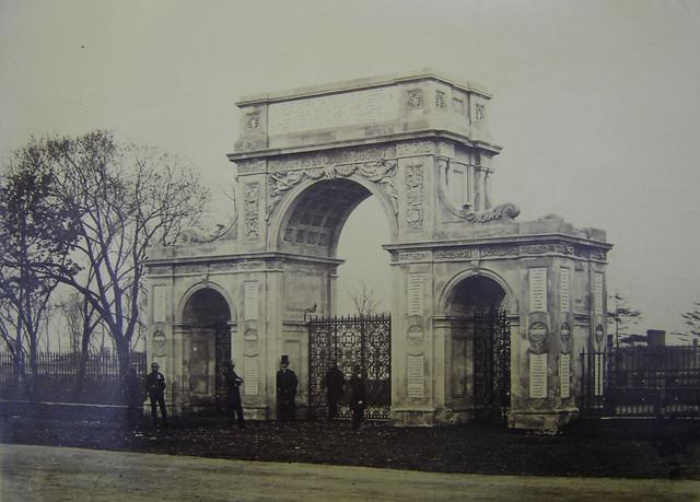 Crimean Memorial Arch Brompton Barracks