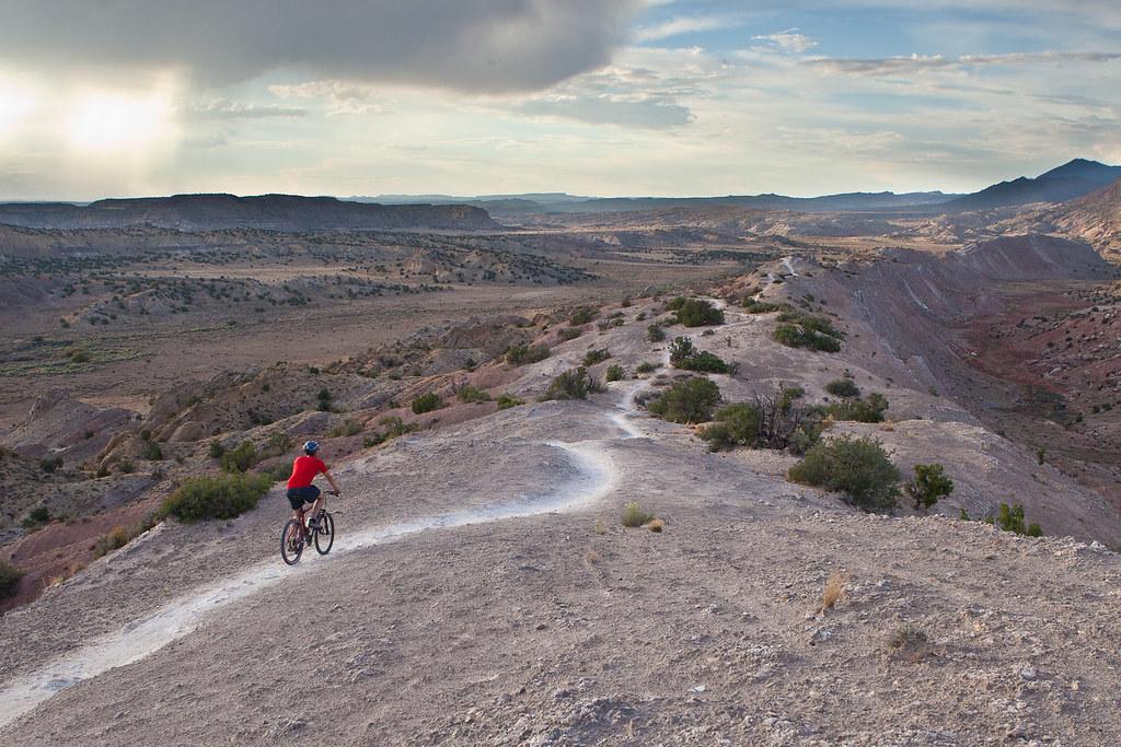white ridge bike trails bureau of land management