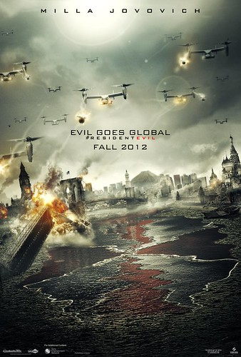 Resident Evil: Retribution Movie Teaser Poster