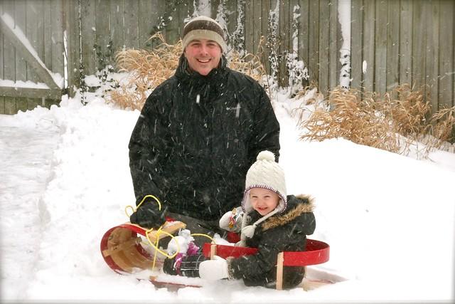 Dad Zed Snow