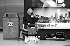 Photograph: Subway Fiddler