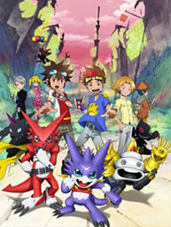 Digimon Xros Wars Toki o Kakeru Shounen Hunter tachi