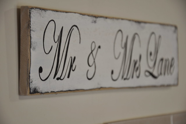 Mr & Mrs Lane Sign