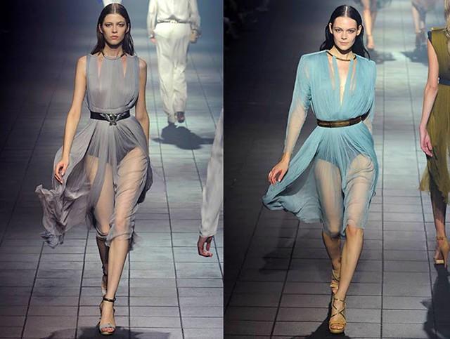 lanvin paris fashion week spring summer 2012