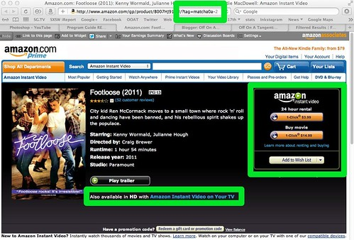 Amazon.com: Footloose (2011): Kenny Wormald, Julianne Hough, Dennis Quaid, Andie MacDowell: Amazon Instant Video