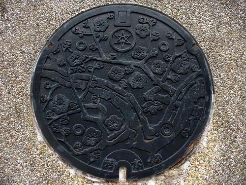 Mito Ibaragi manhole cover(茨城県水戸市のマンホール)