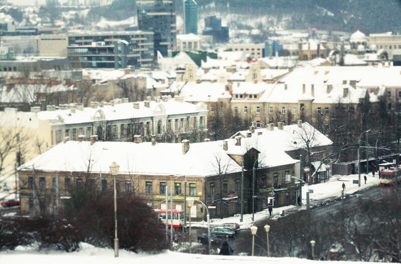 Vilnius ziema