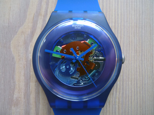 Swatch New Gent Lacquered Indigo