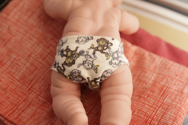 Baby doll diapers.
