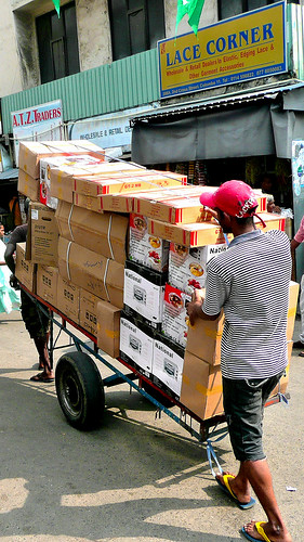 Pettah Market Transport - Sri Lanka 2012