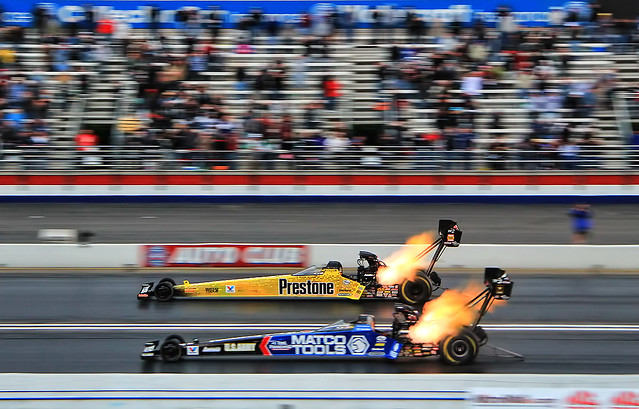 NHRA Top Fuel Finals at Pomona