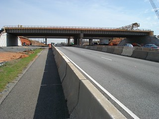 Crews Build Surface of New Belmont Road Bridge in Davidson County