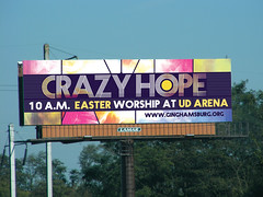 Church Easter Ideas: billboard rough 1 design