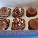 Caja Cupcakes de Buttercream de Chocolate