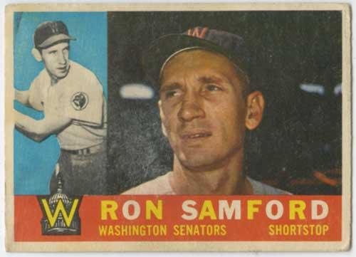 1960 Topps Ron Samford