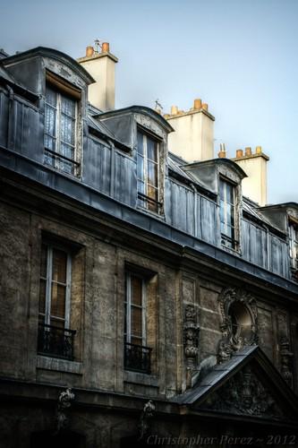l'isle saint Louis roofline