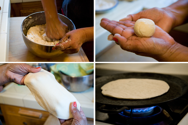 Making Tortillas...