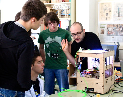 Taller Fabricacion Digital en IES Pablo Díez de Boñar